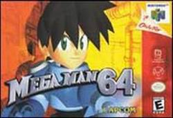 Mega Man 64 (USA) Box Scan